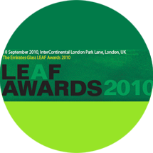 News Premi LEAF AWARDS 2010