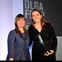 News Olga Felip premiada com a arquitecta emergent de l'any